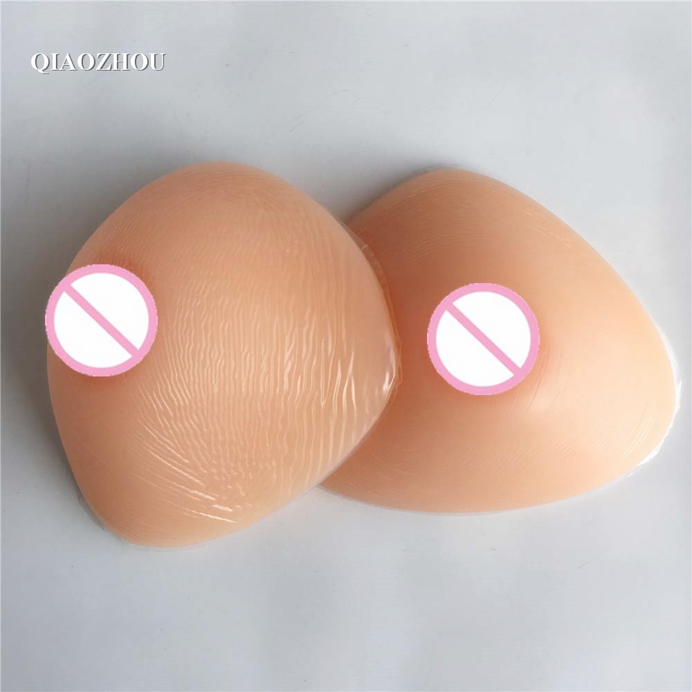 800g/pair realistic silicone breast form soft crossdressing mastectomy fake boobs prosthesis800g/pair realistic silicone breast form soft crossdressing mastectomy fake boobs prosthesis