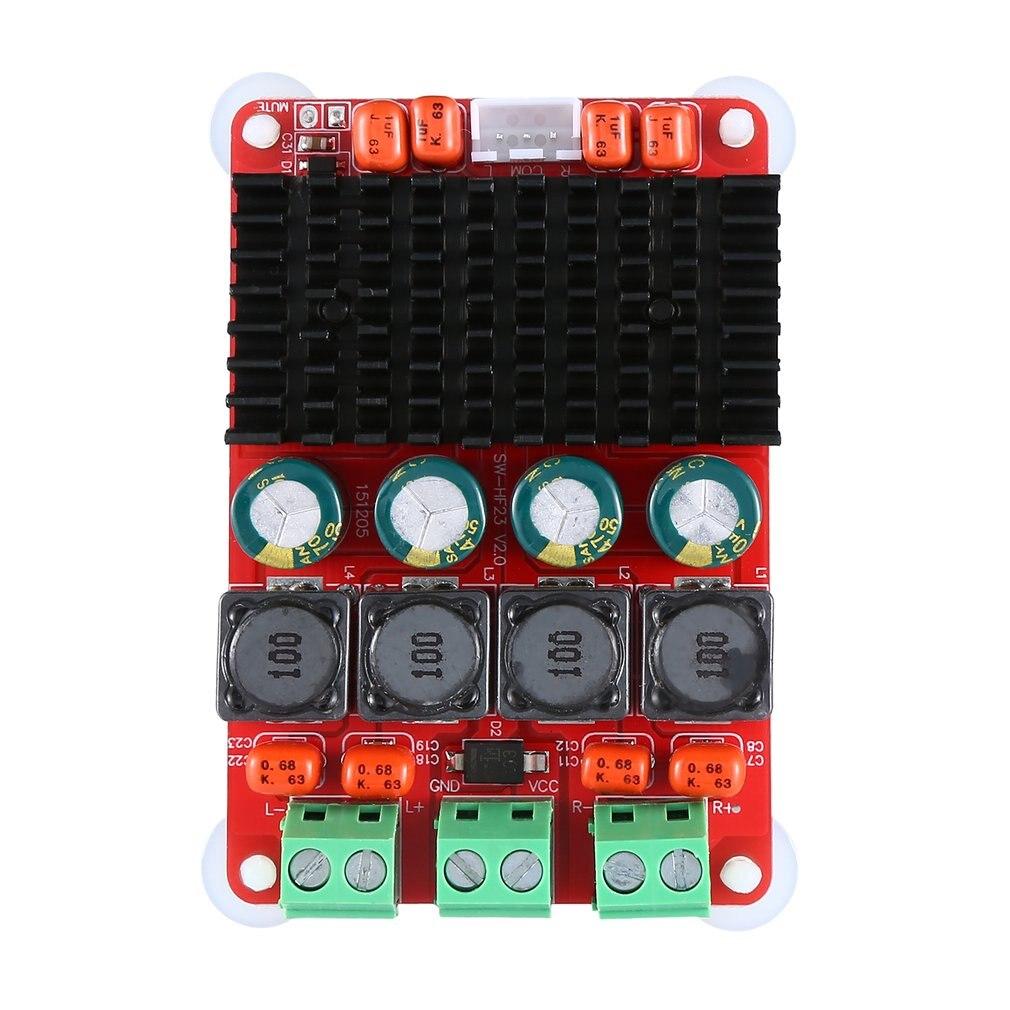 Digital Power Amplifier Board Tpa3116 Dual Channel 50W*2 Digital Power Amplifier Board Pbtl 100W Mono Power Amplifier
