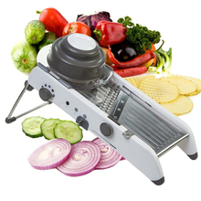 VOGVIGO 2017 Adjustable Mandoline Slicer Professional Grater With 304 Stainless Steel Blades Vegetable Cutter Kitchen Tools