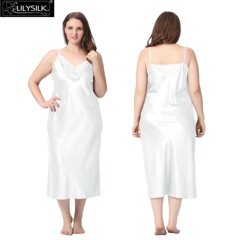 1000-white-22-momme-lacey-neckline-silk-nightgown-plus-size-01