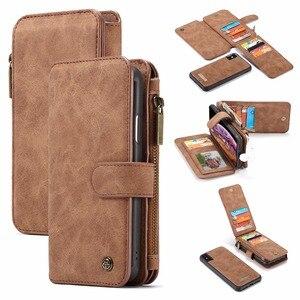 Кожаный чехол-кошелек для IPhone X, Xr, Xs, Max, 9, держатель для карт, чехол для iphone 8, 7 Plus, 6, 6 S Plus, 5, 5s, SE, флип-чехол для телефона