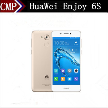 "Original HuaWei Enjoy 6S 4G LTE Mobile Phone Snapdragon 435 Android 6.0 5.0"" IPS 1280X720 3GB RAM 32GB ROM 13.0MP Fingerprint"
