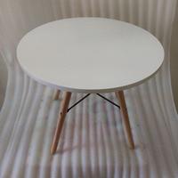 QIYU Modern Design Round Wooden Table DIA 60 CM Coffee Table