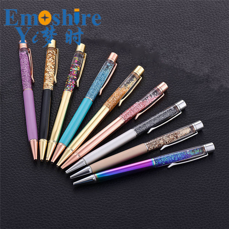 Cute Kawaii Metal Diamond Crystal Ballpoint Pen Ball Pen Gift School Office Supplies Creative Ballpoint Pen Custom C073 зонты для колясок altabebe солнцезащитный al7000