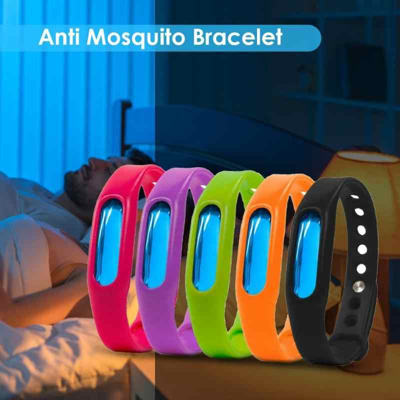 1pcs Anti Mosquito Capsule Pest Insect Bugs Control Mosquito Repellent Wristband For Kids Mosquito Killer