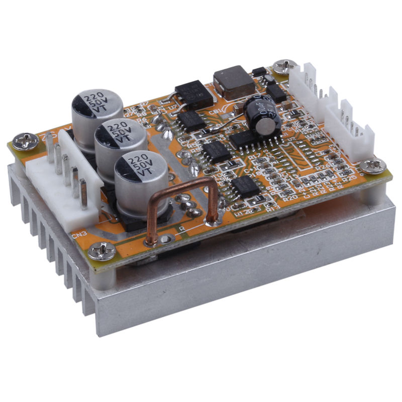 BLDC DC 5-36V Brushless Sensorless Motor Control Board Motor Driver Regulator Monitor 350W High Power DC Motor Speed Controller цена