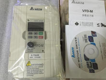 Delta Inverter 0.75KW VFD007M43B 3 Phase 380V to 460V Rated Currrent 3A 100% New Products with Free Shipping Delivery