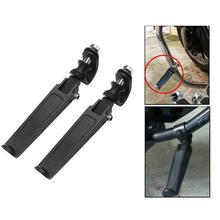 1 пара шоссе защита двигателя крушение баров подножки аксессуары для мотоциклов Запчасти для Harley Honda Suzuki подставки для ног стайлинга автомобилей