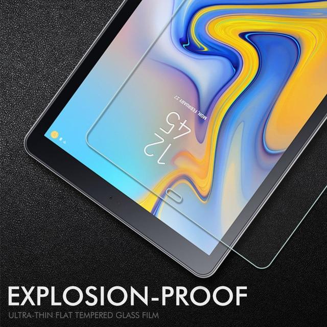 Tablet de vidrio templado para Samsung Galaxy Tab A 10,5, 10,1, 8,0, 7,0 Protector de pantalla T580 P580 T280 T350 T380 P205 t590 T515 película