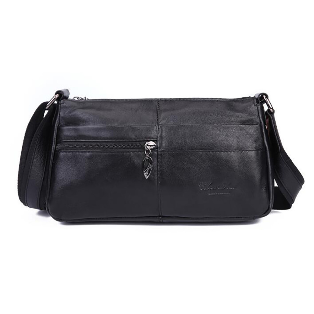 100% Genuine Leather Women Single Shoulder Bag Fashion Trend Famous Brand Ladies Cross body Satchel Cowhide Messenger Bags New real genuine leather women single shoulder bag small cross body satchel ladies messenger bags famous brand cowhide tote handbag