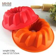 3D Спиральная форма формы силиконовая форма для торта для выпечки муссов сковорода десерт торт инструменты для украшения