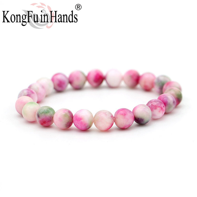 rainbow stone beads bracelet pretty jewellery new arrival new year gift for frie