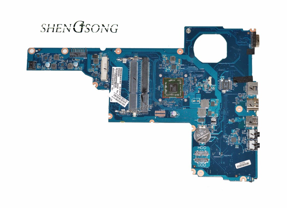 730573-001 For HP 2000-2D laptop MOTHERBOARD A6-5200 730573-501 6050A2562701-MB-A02 DDR3 integrated 100% tested good 656092 001 main board for hp pavilion dm4 dm4 2000 laptop motherboard ddr3 with i3 2310m cpu