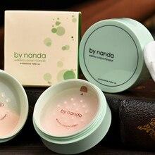 3 Color Translúcido Polvo Presionado con Soplo Suave Rostro Base de Maquillaje A Prueba de agua Suelta PowderSkin BY80