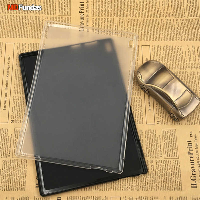 the latest c7af8 86035 MDFUNDAS Top Quality Soft TPU Silicon For Lenovo Tab 4 10 Plus TB-X704F  Solid Color Back Cover For Lenovo Tab4 10 Plus Case