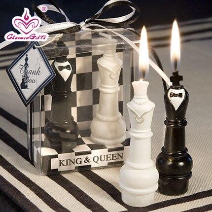 Romantische Kreative Hochzeit Zuruck Zu Schachkonig Und Konigin