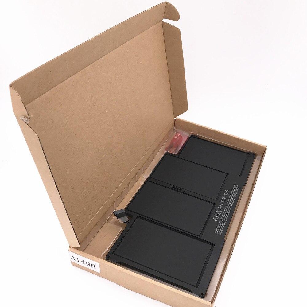 3 PCS A1466 battery for font b Macbook b font Air 13 3 laptop A1496 Battery