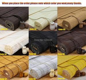 Оптовая продажа жалюзи для окон бамбуковые жалюзи черные жалюзи для окон