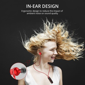 Image 5 - FONKEN بلوتوث سماعة في الأذن اللاسلكية سماعات مع ميكروفون الرياضة باس قلادة بقفل ممغنط سماعة الهاتف المحمول سماعات
