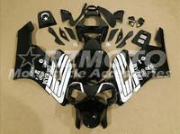 ACE KITS New ABS Injection Fairings Kit Fit For HONDA CBR1000RR 2004 2005 CBR1000RR 04 05 Black White F90