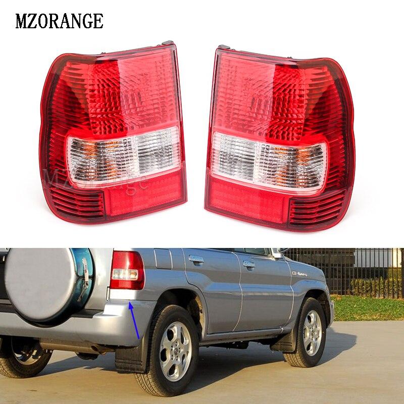 MZORANGE Car Rear Tail Light Assembly Brake Lamp For Mitsubishi PAJERO MONTERO IO Pajero MINI 1998