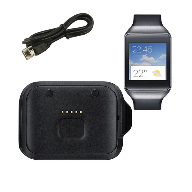 Smart Watch Charger For Samsung Gear Live R382 SM Desktop Dock Cradle With USB