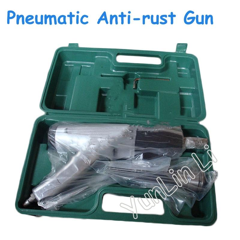 Pneumatic Needle Anti rust Gun Rust Removal Air Needle Scaler Pneumatic Derusting Gun with Plastic Box JEX 28