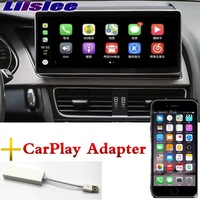 Liislee Car Multimedia Player NAVI 10.25 inch For Audi A4 A4L B8 8K 2009~2016 CarPlay Adapter Radio Stereo GPS Navigation