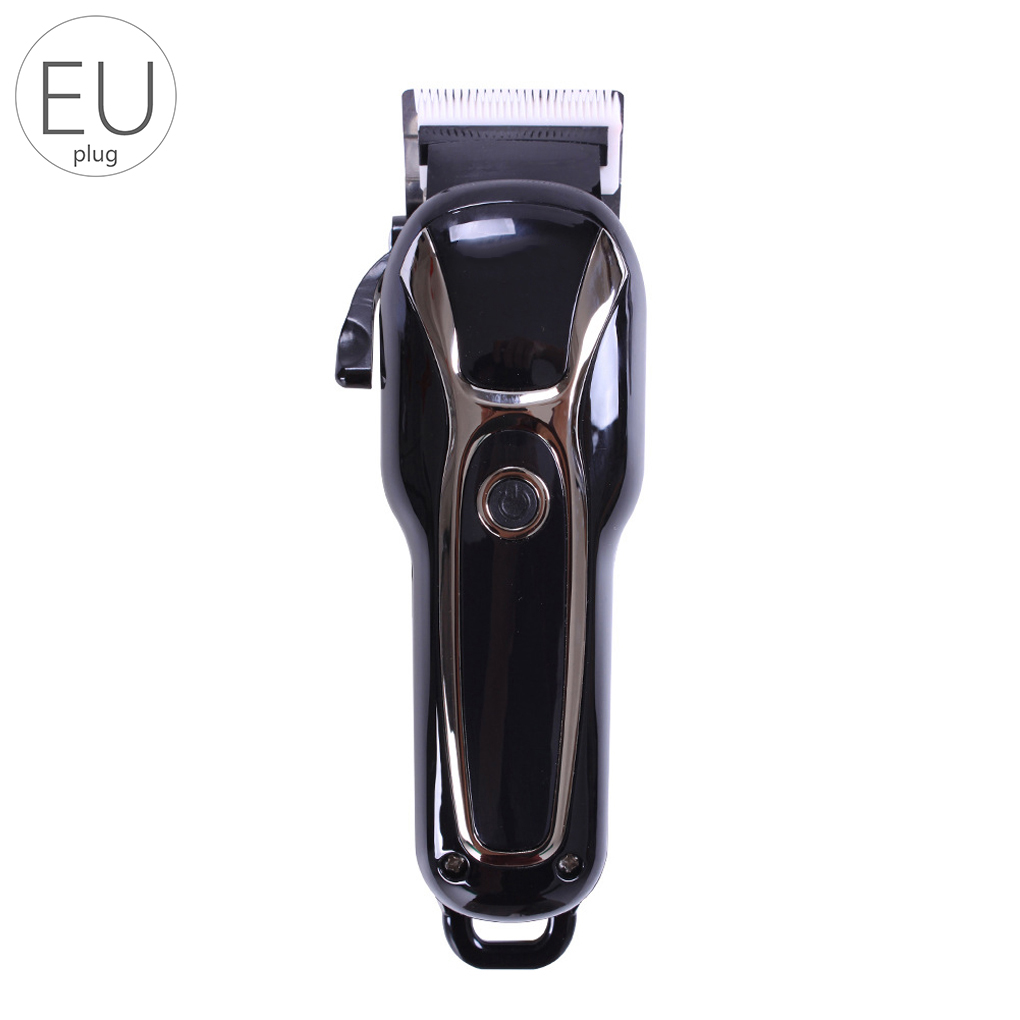 Man LCD Electric Hair Clipper Cordless Rechargeable Hair Trimmer Ceramic Blades Hairdressing Tools Male Haircut Machine 0 8 lcd rechargeable children water resistant hair clipper trimmer w accessories blue white