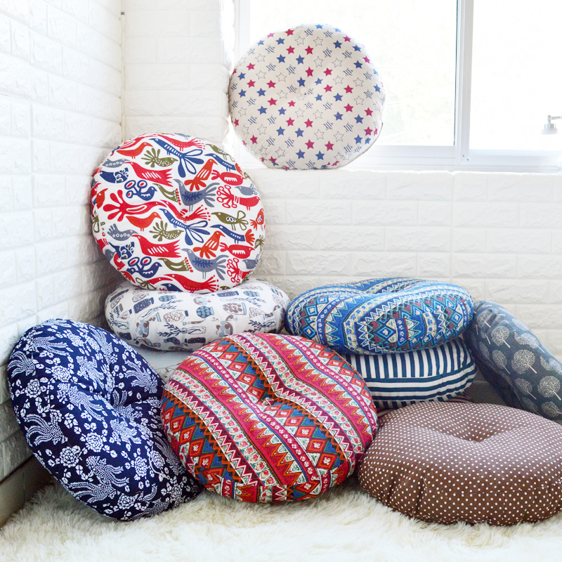 large round floor cushions oversized pillows designs