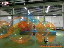 2 0m Diameter Globe Inflatable Giant Beach Ball For Pool Used Water Walking Ball