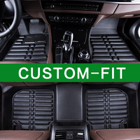 High Quality 2017 New Arrival Custom Special Car Interior Floor Mats Made For Ford Mondeo Focus