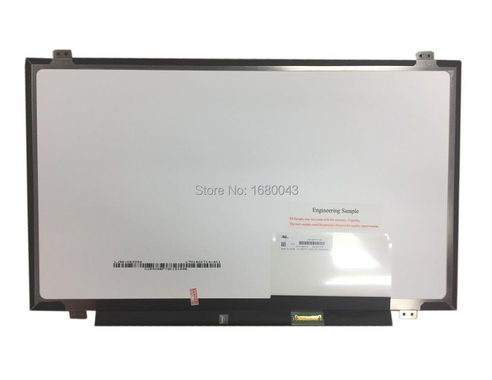 LTN140KT14 201 fit N140FGE-EA2 LP140WD2 B140RTN02.3 B140RTN03.0 LTN140KT14 eDP(30pin) 14 LCD Screen 1600x900LTN140KT14 201 fit N140FGE-EA2 LP140WD2 B140RTN02.3 B140RTN03.0 LTN140KT14 eDP(30pin) 14 LCD Screen 1600x900