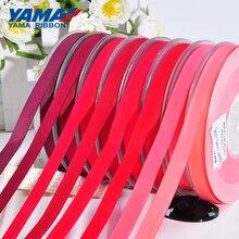 """YAMA ruban en gros grain, série rouge, pour bricolage de robe, pour maison, accessoires de robe, 2 """"2.5"""" 3 """"3.5"""" 4 pouces 50 57 63 75 89 100mm, 100yards/lot"""