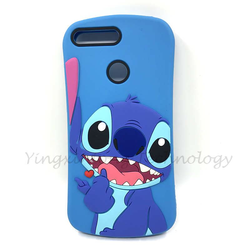 """Image 2 - For Huawei Honor 7C Russian Version Case Cover Honor 7 C Cute 3D Cartoon Silicone Phone Cases For Huawei Honor7C AUM L41 5.7""""-in Fitted Cases from Cellphones & Telecommunications"""
