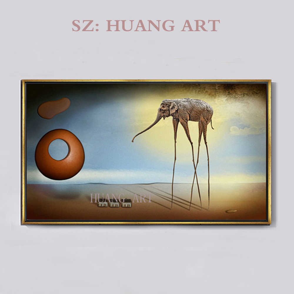 Nordic Decoration Spain  Artist Inspired - Salvador Dali Art Canvas oil Painting Poster Surreal Abstract Picture For Living Room