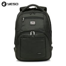 YESO Бизнес ноутбука Рюкзаки Для мужчин 14 15.6 дюймов multifuntion путешествия Рюкзаки Школьные сумки Водонепроницаемый Оксфорд Тетрадь Рюкзаки(China)