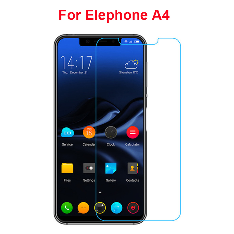 For Elephone A4 Screen Protector Protective Glass Protector For Elephone A4 Pro Tempered Glass Ultra-thin Mobile Phone Film