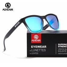 KDEAM 2019 Luxury Sunglasses Men Frog Sun Glasses Women Polarized Shades 5 Colors UV400 With Case KD0717