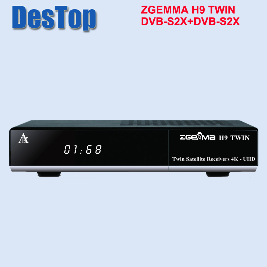 Zgemma H9 DOPPIA DVB S2X HEVC H.265 WIFI built in 2 * CI + IPTV STALKER ZGEMMA H9 4 K TV BOX-in Ricevitore per TV satellitare da Elettronica di consumo su AliExpress - 11.11_Doppio 11Giorno dei single 1