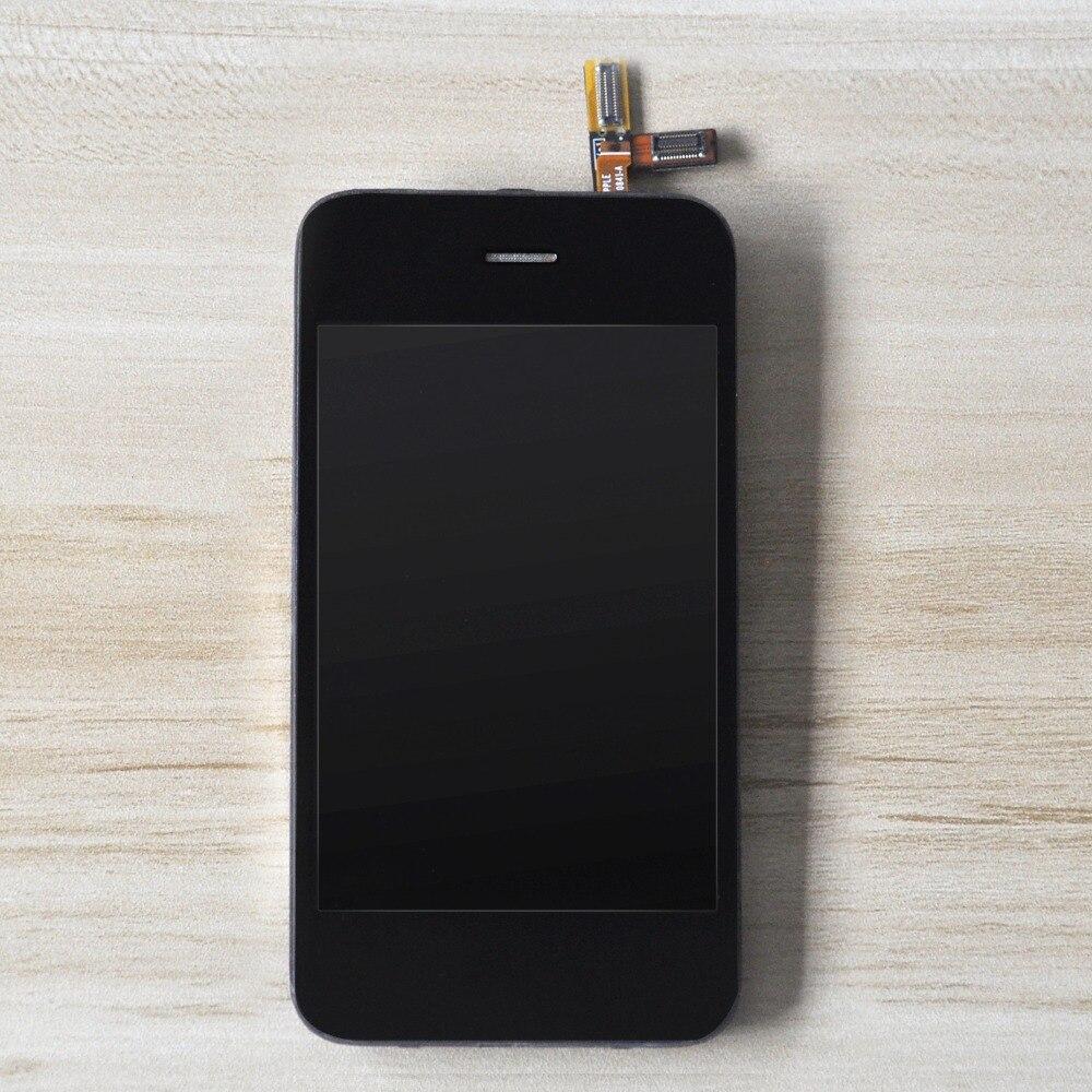 Sinbeda 100% L'essai Strict 3.5 ''LCD Écran D'affichage Pour iPhone 3GS LCD Écran Digitizer Assemblée Avec La Maison de Bouton et Avant caméra
