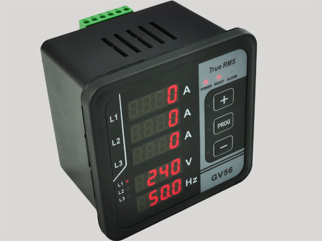 GV56 Digital Multi-functional Meter Current&Voltage Test For Three-phase Generator Free Shipping free shipping drop kit ct 1000a droop current transformer for generator