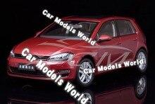 Auto Model voor Golf 7 1:18 (Rood) + KLEINE GIFT!!!