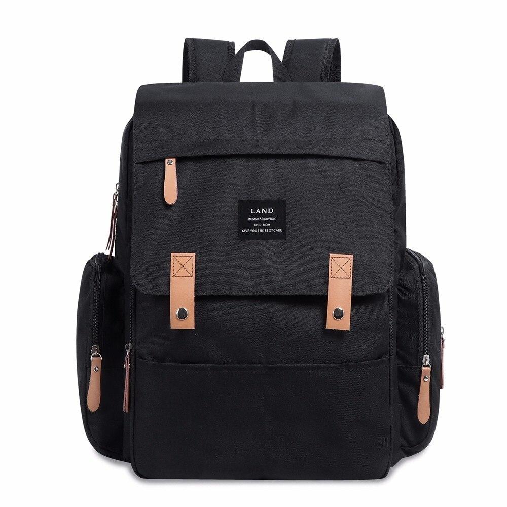 HTB1HKF8byHrK1Rjy0Flq6AsaFXaD LAND New Baby Diaper Bag Fashion Mummy Maternity Nappy Bag Large Capacity Baby Bag Travel Backpack Designer Nursing Bag