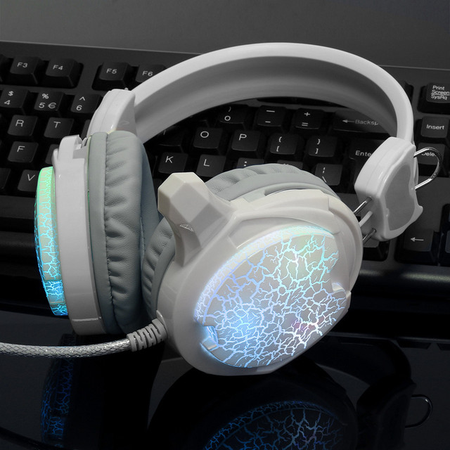 81eb72c369c Novas Sete Colorido Headband Gaming Headset Headphones Samrtphone Desgastar  Confortável Com Microfone Para PC Portátil