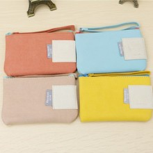 BF040 Candy color hand carry storage bag The mood in Paris with package 13.9*9cm free shipping