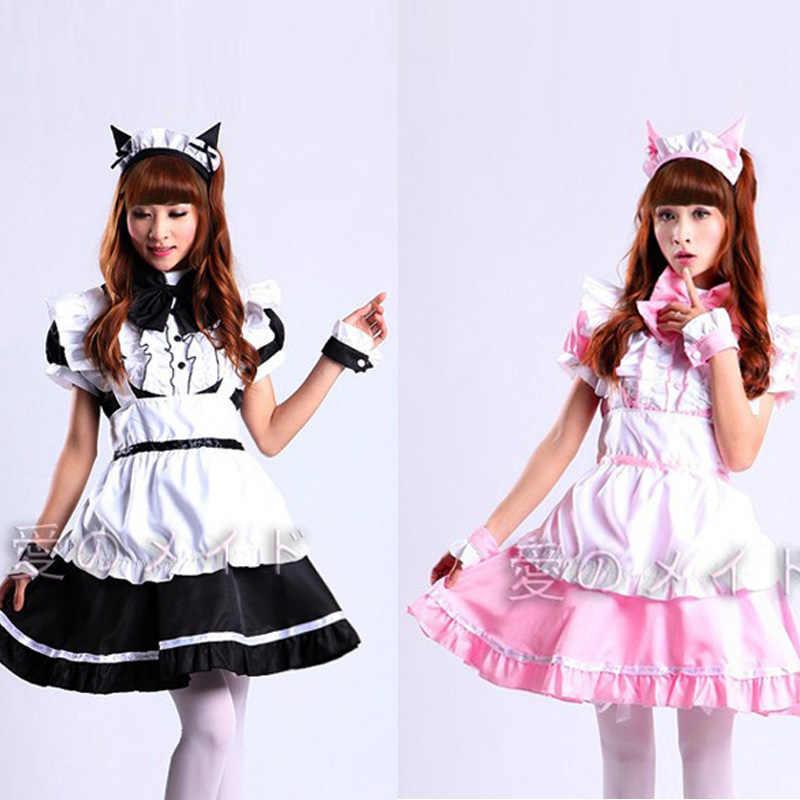 b718a5a1b41 Hot Sale Alice in Wonderland Costume Cute Dress Maid Cosplay ...