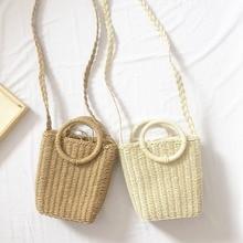 Brand Bohemian Crossbody Fashion Handmade Handbag Straw Bag Woven Beach For Women