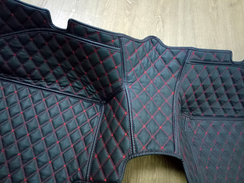 Interior Leather Floor Mats & Carpets 1set Left hand drive For BMW 2 -Series F46 Station Wagon 7 Seats 2013 2014 2015 2016 for opel zafira left drive firm pu leather wear resisting car floor mats black brown grey custom made waterproof carpets