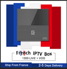 A95X F2 Android 9.0/S905WX2/double wifi/4 K Smart Tv box & Pro neo iptv abonnement Europe France arabie belgique A95XF2 iptv(China)